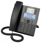 MITEL AASTRA terminal 6865i w/o AC adapter (SIP-phone, optional PS)