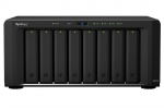 Synology DS1817  QC1,7GhzCPU/4Gb DDR3/RAID0,1,10,5,,6/upto 8hot plug HDDs SATA(3,5' or 2,5')(upto18 with 2xDX517)/2xUSB3.0/2eSATA/2GE+2х10GE RJ-45/iSCSI/2xIPcam(upto 30)/1xPS