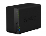 Synology  QC1,4GhzCPU/2GB DDR4/RAID0,1/up to 2hot plug HDDs SATA(3,5'')/2xUSB3.0,1xUSB2.0/1GigEth/iSCSI/2xIPcam(up to 20)/1xPS repl DS216