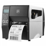 Zebra TT Printer ZT230; 203 dpi, Euro and UK cord, Serial, USB, Int 10/100, Peel