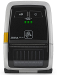 "Zebra ZQ110 Mobile Printer 2"", Bluetooth, USB, MSR, PSU"