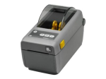 "Zebra DT Printer ZD410; 2"", 203 dpi, EU and UK Cords, USB, USB Host, EZPL"