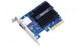 Synology 10 Gigabit Single port RJ-45 PCIe 3.0 4x adapter(incl LP and FH bracket)